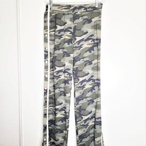 NWT Akira Camo Tear-Away Sweatpants